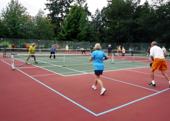 Parksville Seniors Pickleball Club